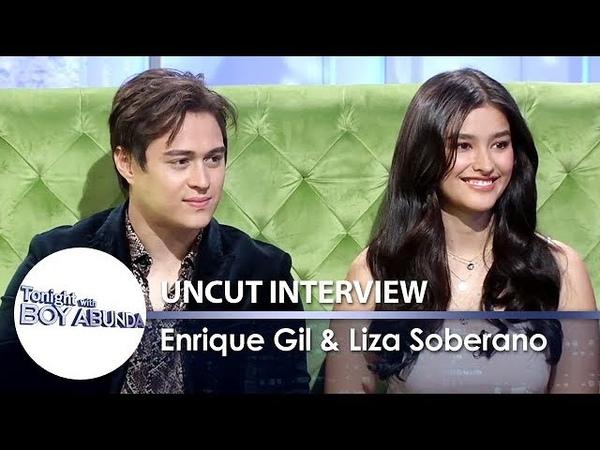 TWBA Uncut Interview: Liza Soberano and Enrique Gil