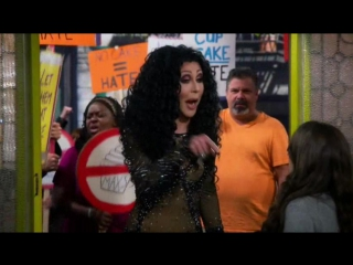 Chad Michaels - 2 Broke Girls 5x04 (RUS)