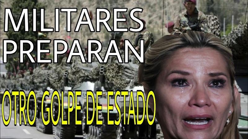 ¡ATENCION! MILITARES PREPARAN TODO PARA SACAR A JEANINE AÑEZ