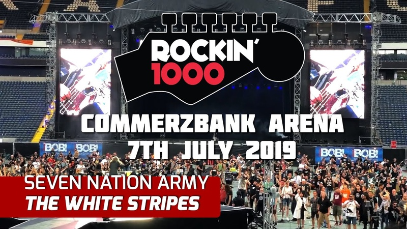 Seven Nation Army The White Stripes Rockin'1000 Frankfurt 2019 Multicam Good Sound