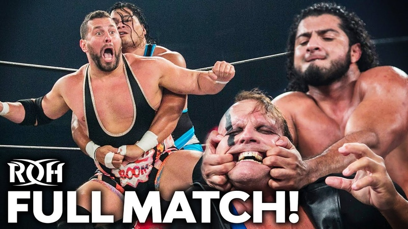 My1 Colt Cabana PCO vs RUSH Jeff Cobb Gets CRAZY FULL MATCH ROH Honor United Newport 2019