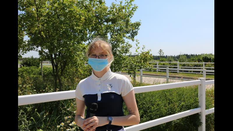 Елизавета Скачилова победитель в маршруте 100 см