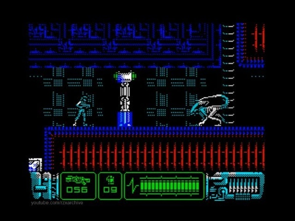Aliens: Neoplasma Walkthrough, ZX Spectrum
