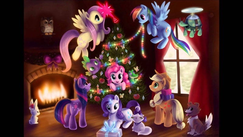Anneli Heed Ponylicious Christmas The Living Tombstone Remix
