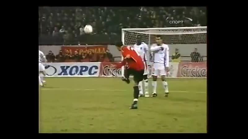 ЦСКА 4 0 Осер 2004 2005 UEFA Cup CSKA Moscow vs AJ Auxerre