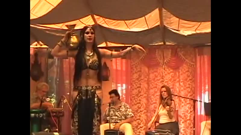 Zoe Jakes Dances on the Gypsy Caravan Stage at the Oregon Country Fair 2013