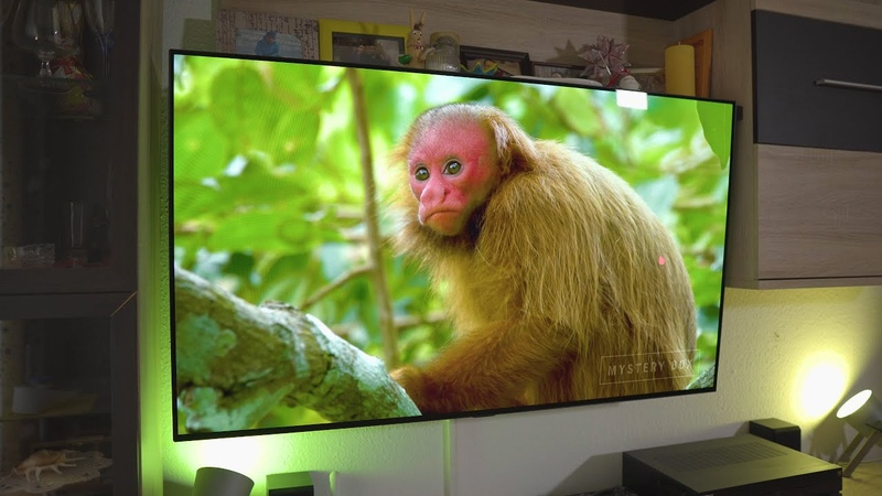 Детальные настройки LG OLED телевизора