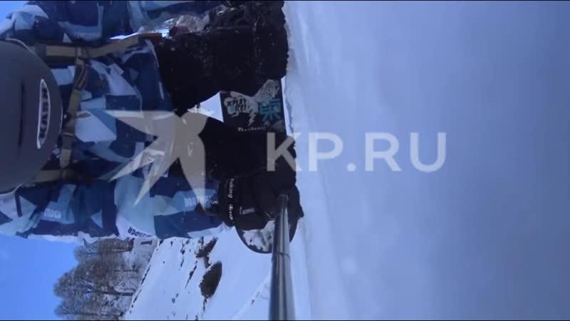 На Красной Поляне лыжник ради стеба покалечил сноубордиста