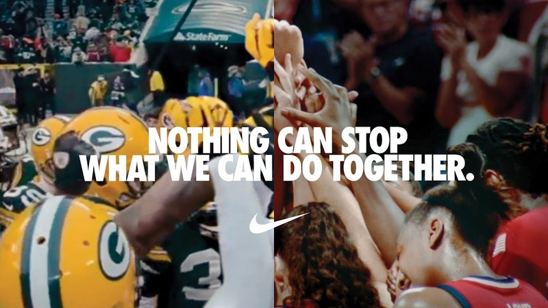 You Can't Stop Us Nike