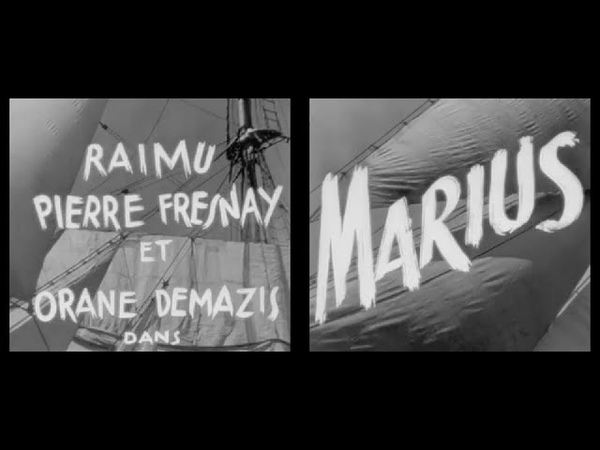 Marius 1931 avec Raimu Pierre Fresnay Orane Demazis Alida Rouffe Fernand Charpin